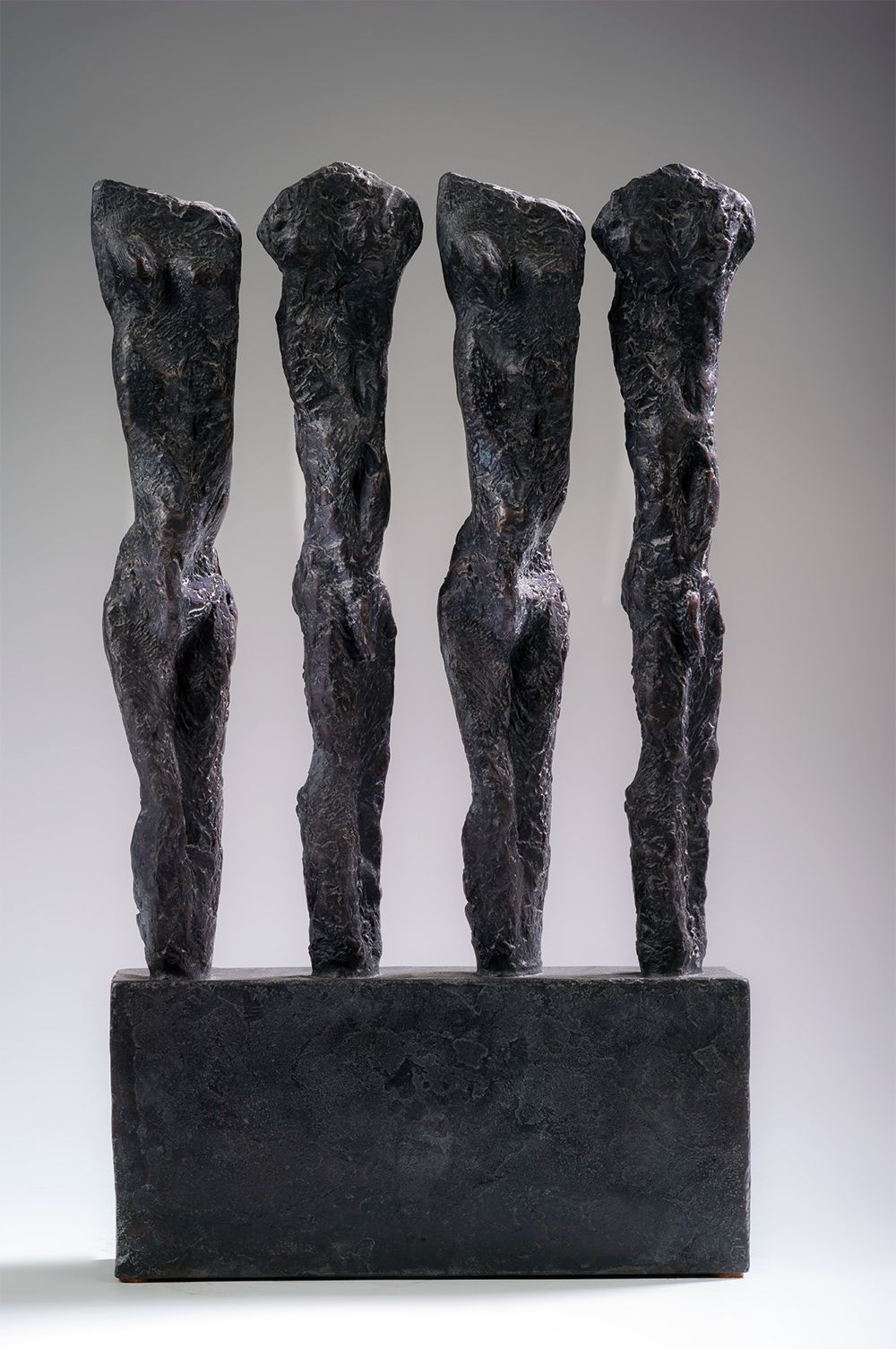In line, Primary Forms series - Martine Demal - Sculpture - detail 1