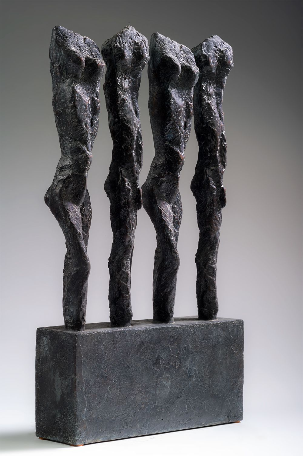 In line, Primary Forms series - Martine Demal - Sculpture - detail 2