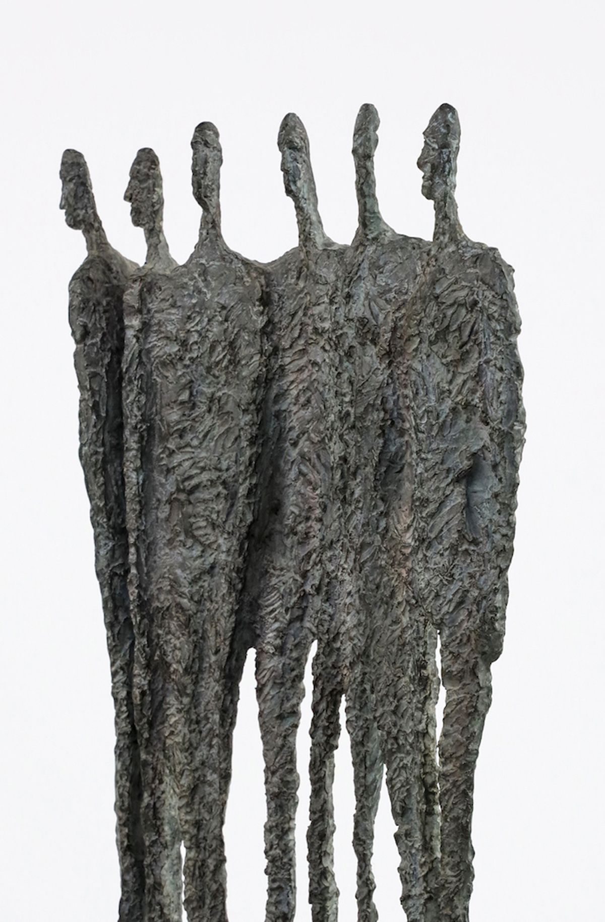 The Group, Primary Forms series,Martine Demal,Sculpture, detail 4