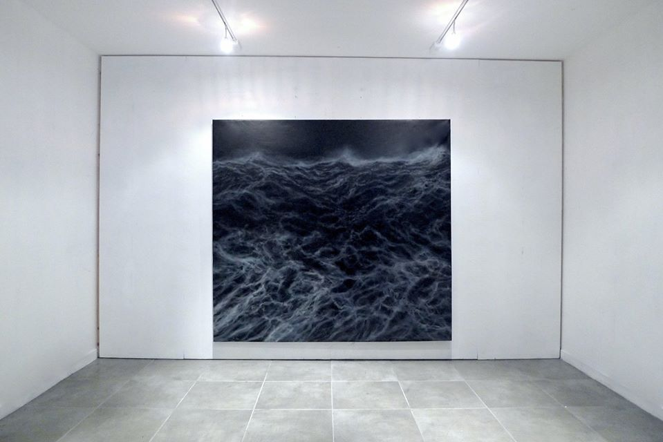 The wall, Large-scale artworks series,Franco Salas Borquez,Contemporary painting