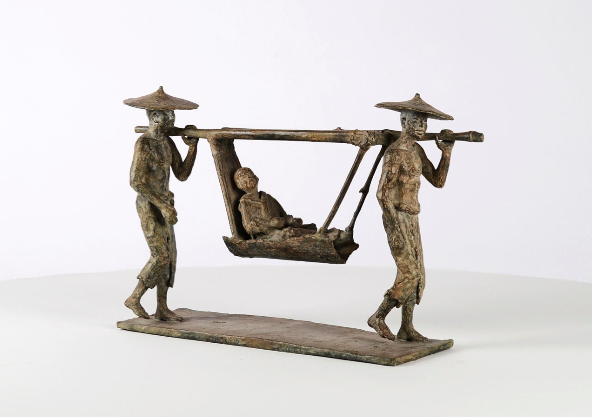 Le Palanquin,Marine de Soos,Sculpture contemporaine