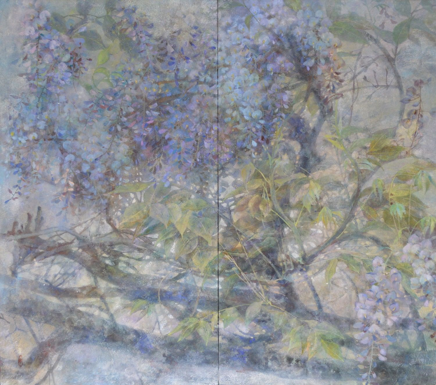le temps écoulé,Chen Yiching,Contemporary painting