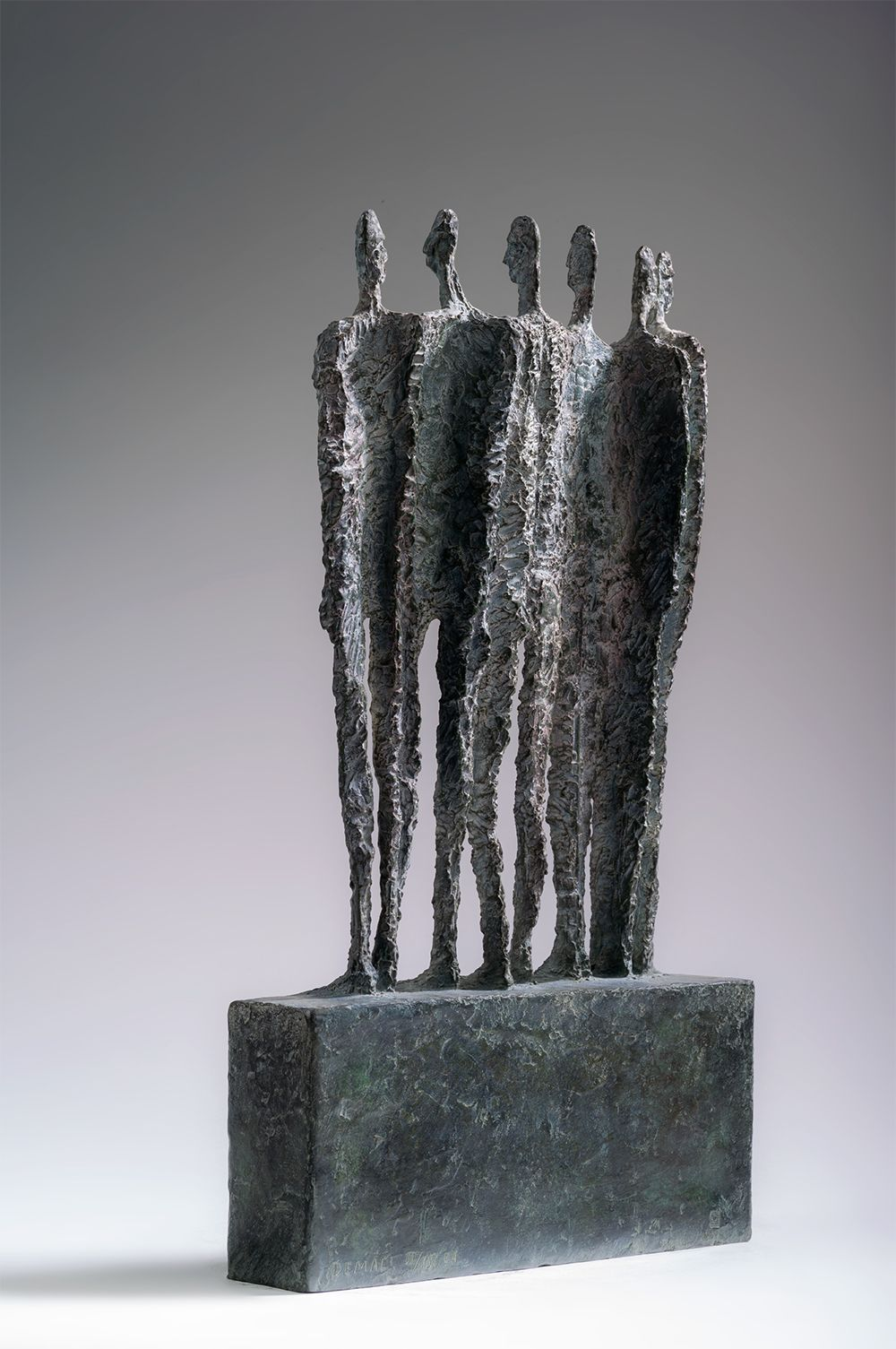 The Group, Primary Forms series,Martine Demal,Sculpture, detail 2