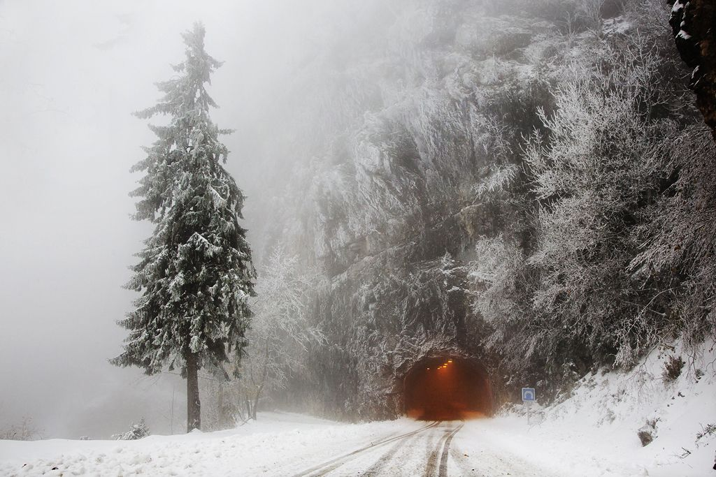 Le tunnel, Vercors ,Christophe Jacrot,Photography