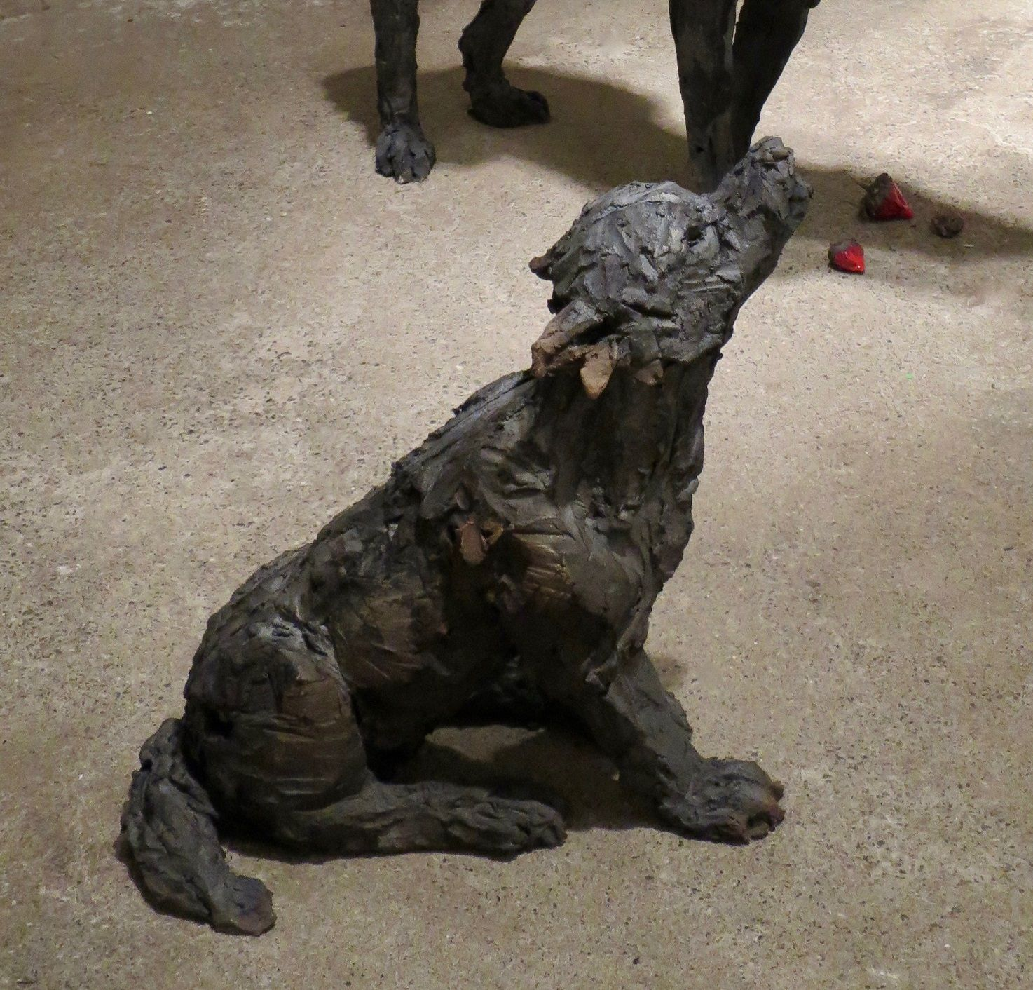 Wolf Cub,Cécile Raynal,Sculpture