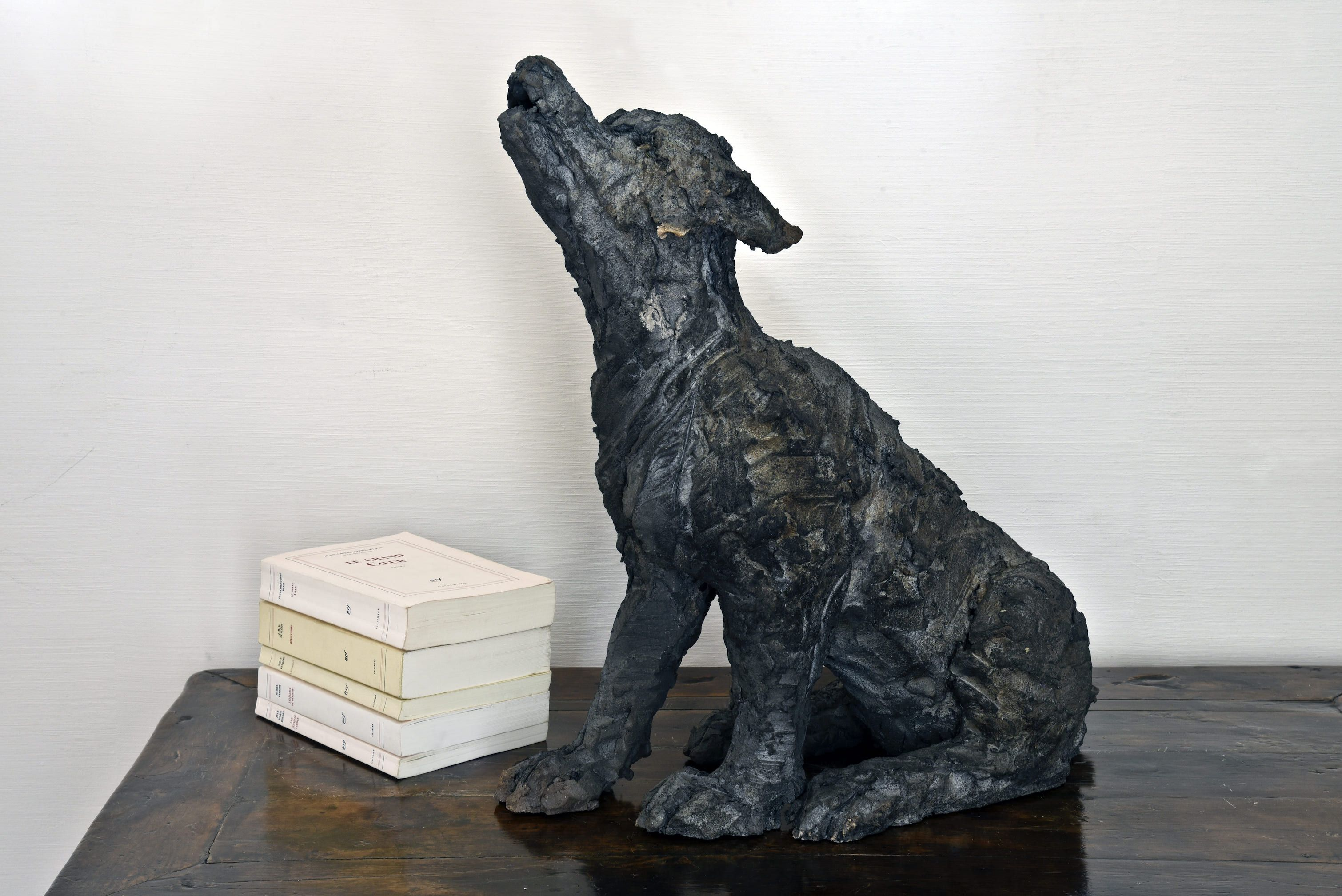 Wolf Cub,Cécile Raynal,Sculpture, detail 3