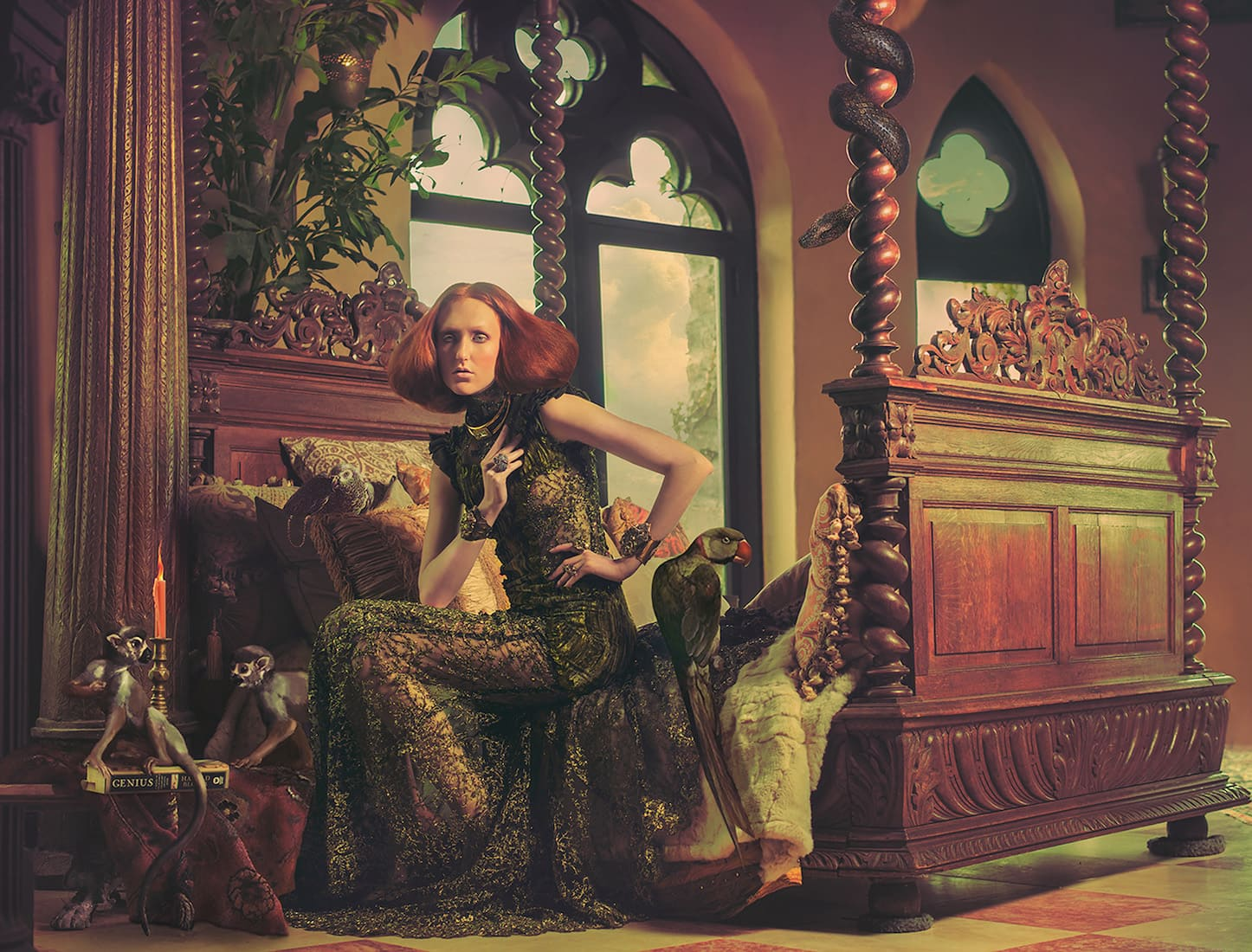 Photography - Miss Aniela - Madame Menagerie