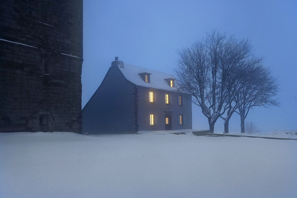 House in the night,Christophe Jacrot,Photography