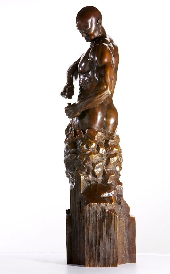 Master of your Own Destiny - Walter Peter Brenner - Sculpture contemporaine - detail 1