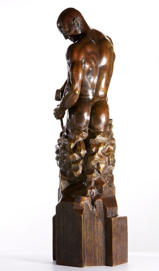 Master of your Own Destiny - Walter Peter Brenner - Sculpture contemporaine - detail 2