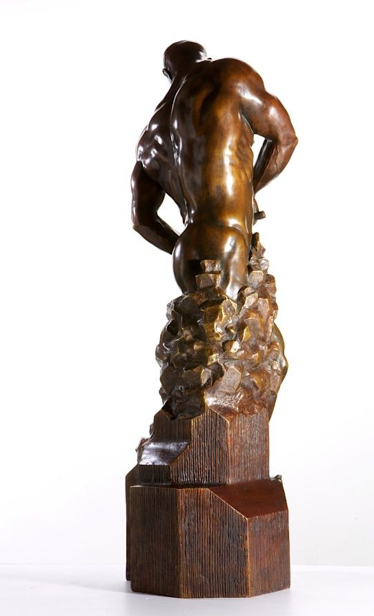 Master of your Own Destiny - Walter Peter Brenner - Sculpture contemporaine - detail 3