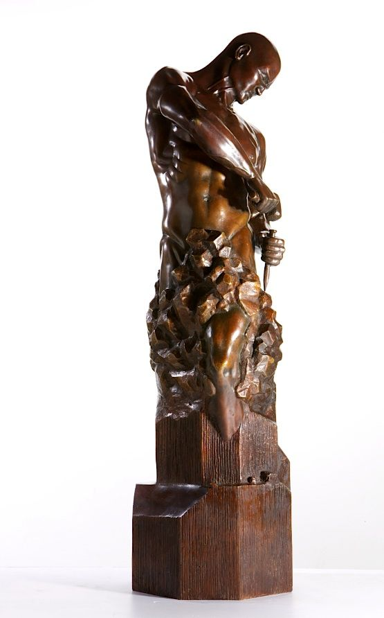 Master of your Own Destiny - Walter Peter Brenner - Sculpture contemporaine - detail 4