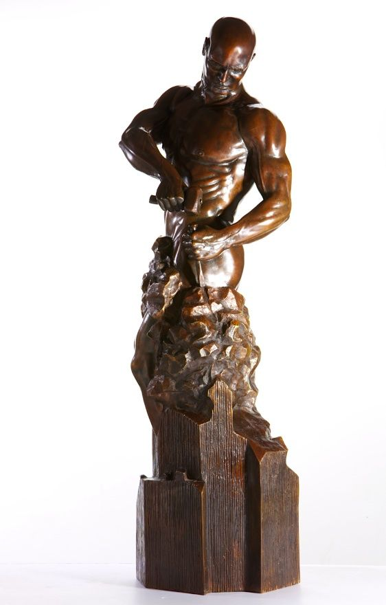 Master of your Own Destiny - Walter Peter Brenner - Sculpture contemporaine