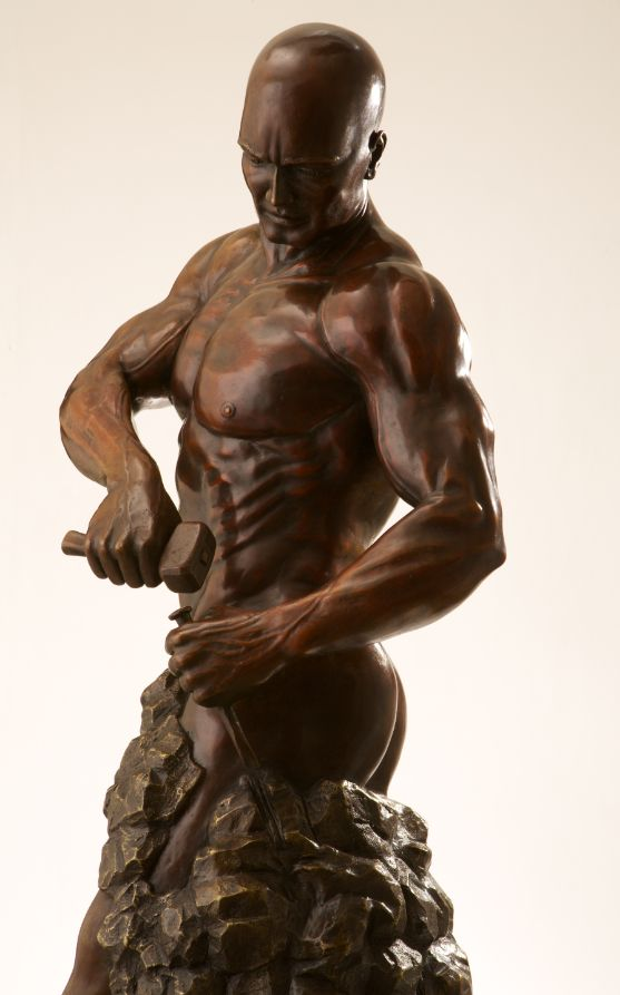 Sculpture - Walter Peter Brenner - Master of your own Destiny II - detail 2