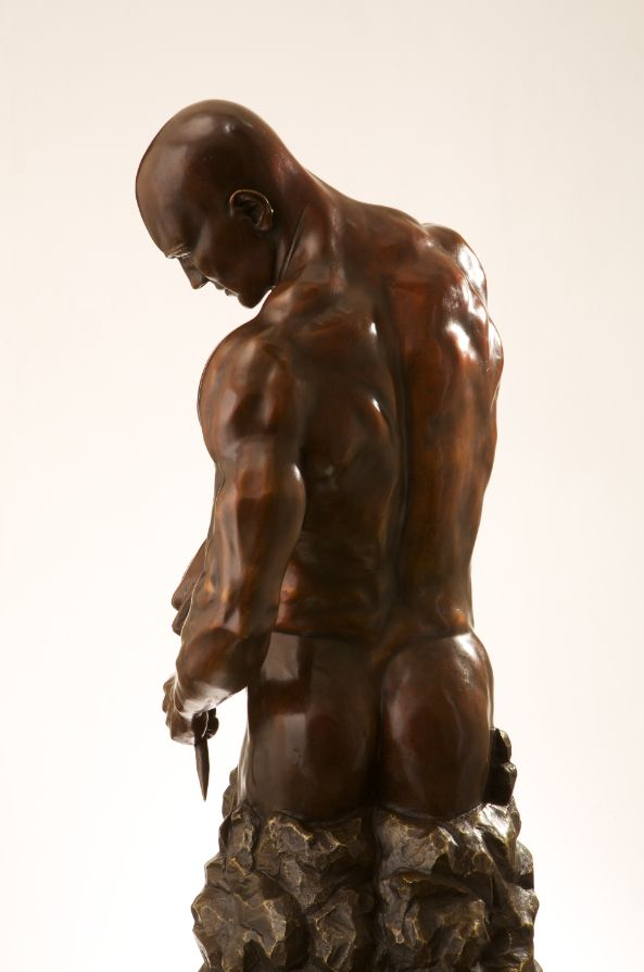 Sculpture - Walter Peter Brenner - Master of your own Destiny II - detail 3