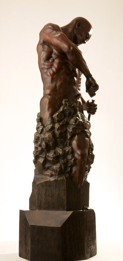 Sculpture - Walter Peter Brenner - Master of your own Destiny II - detail 4
