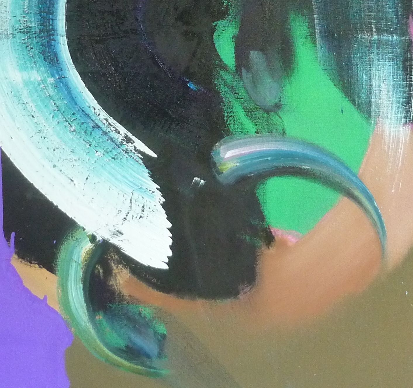 MITHRA,Christophe Dupety,Contemporary painting, detail 1