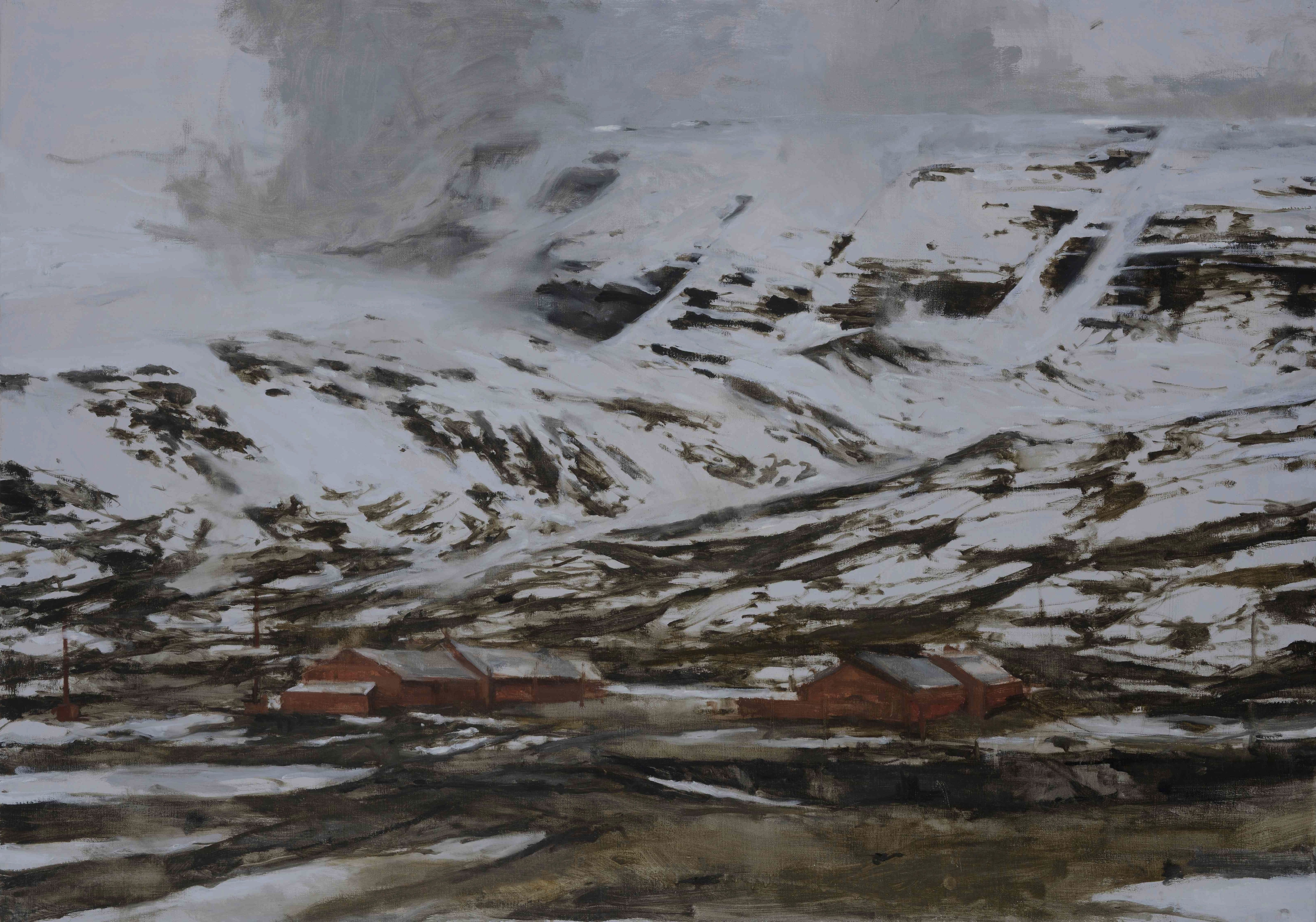 Myrdal, Norway series,Calo  Carratalá,Contemporary painting, detail 4
