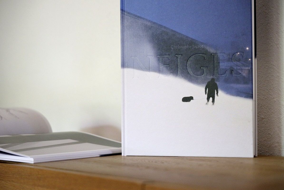 NEIGES - signed photography book - Christophe Jacrot - Photography - detail 1