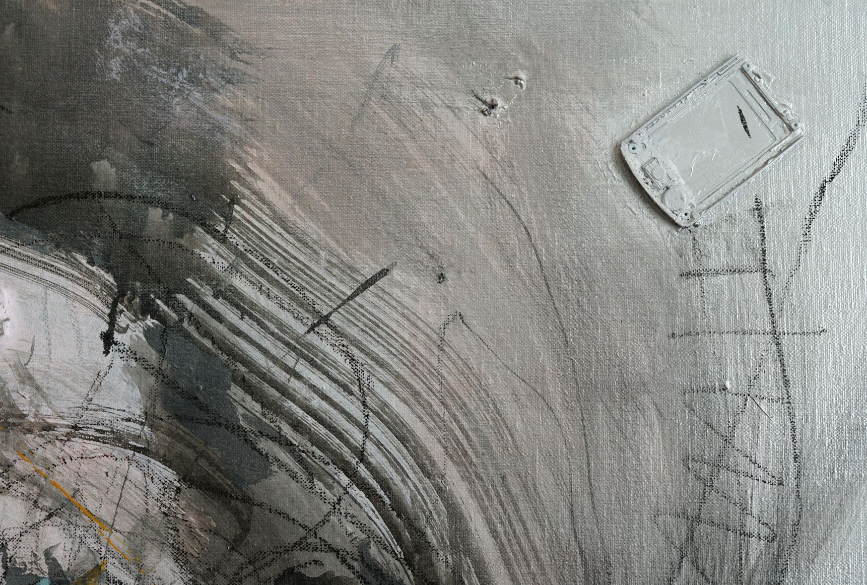 No.193,Hongyu Zhang,Contemporary painting, detail 2