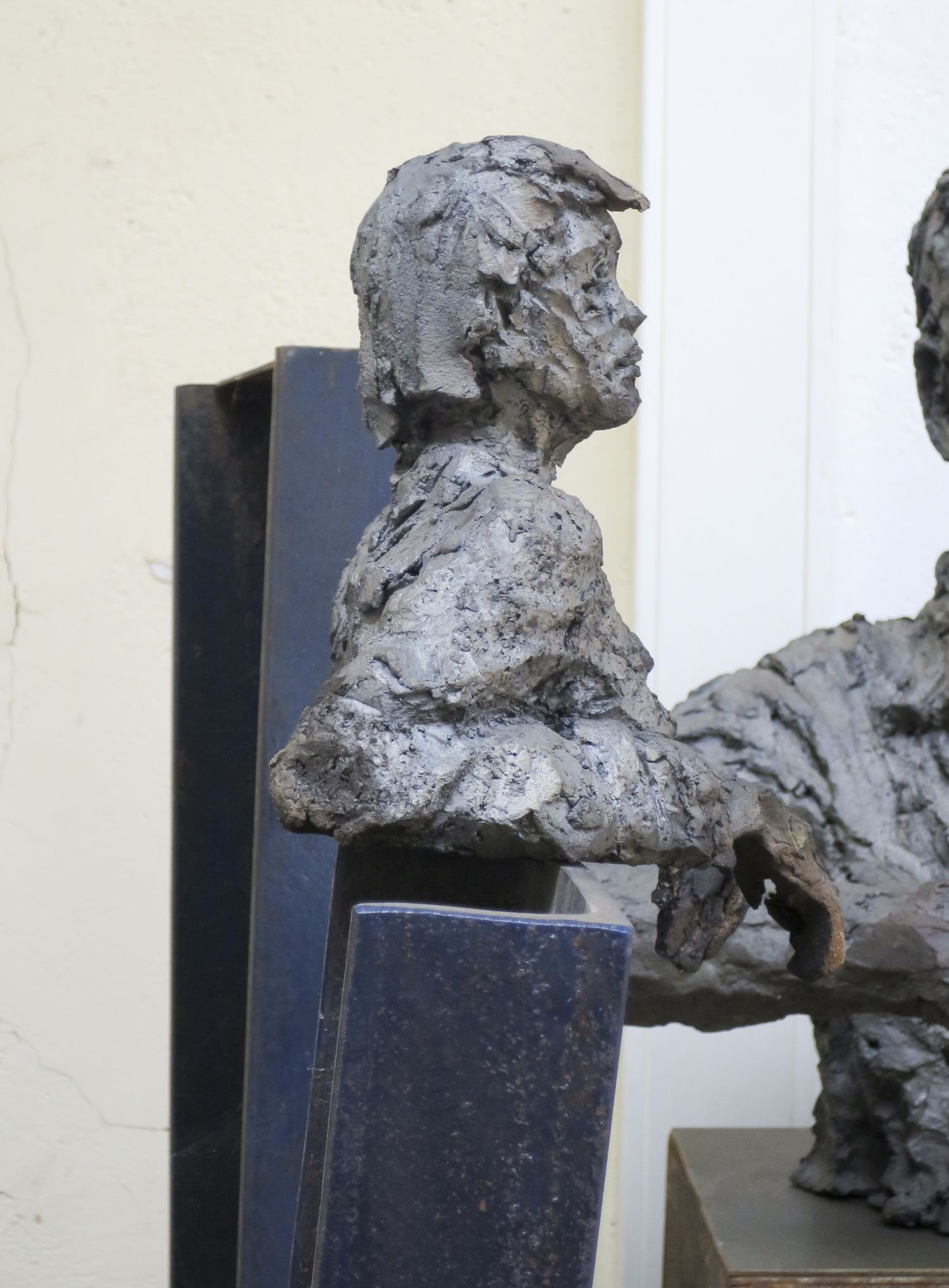 OFW's/Hom's II,Cécile Raynal,Sculpture, detail 1