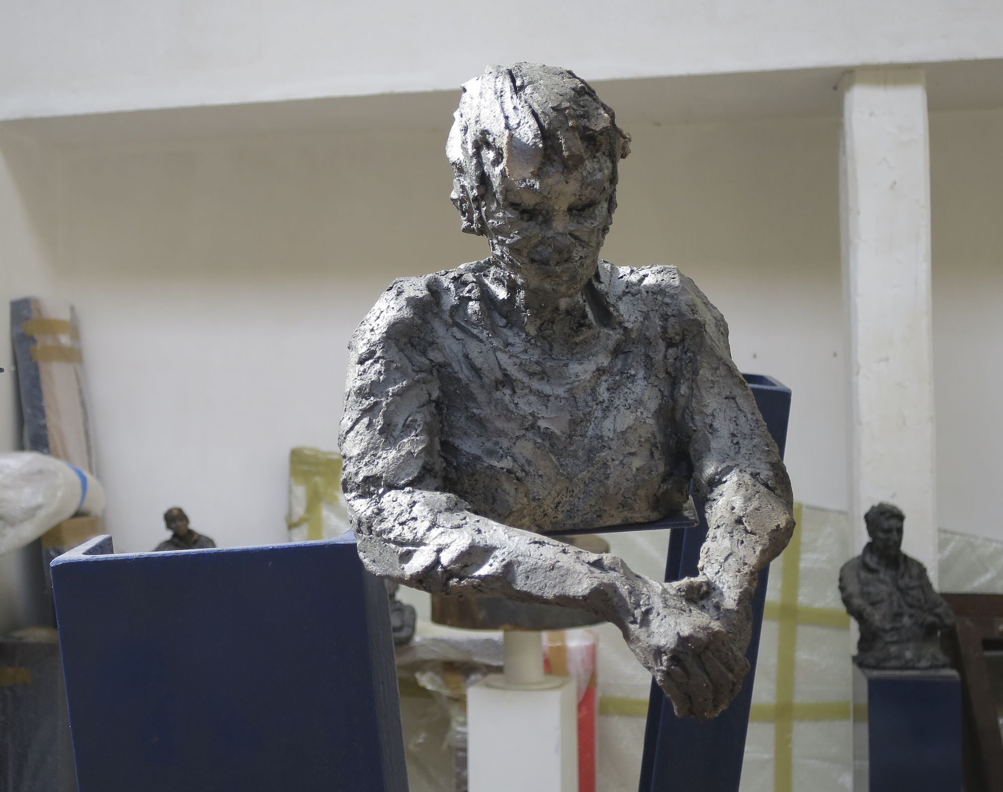 OFW's/Hom's VIII,Cécile Raynal,Sculpture