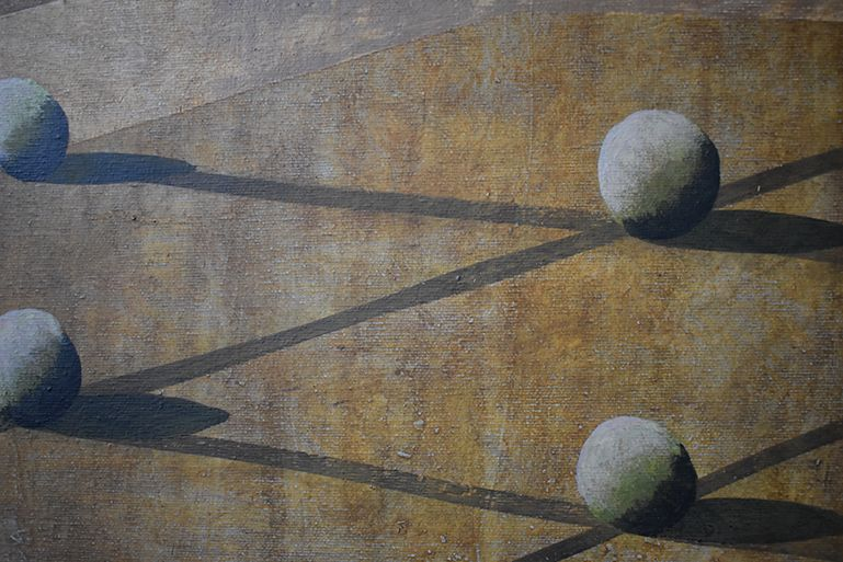 Olan,Ramon Enrich,Contemporary painting, detail 3