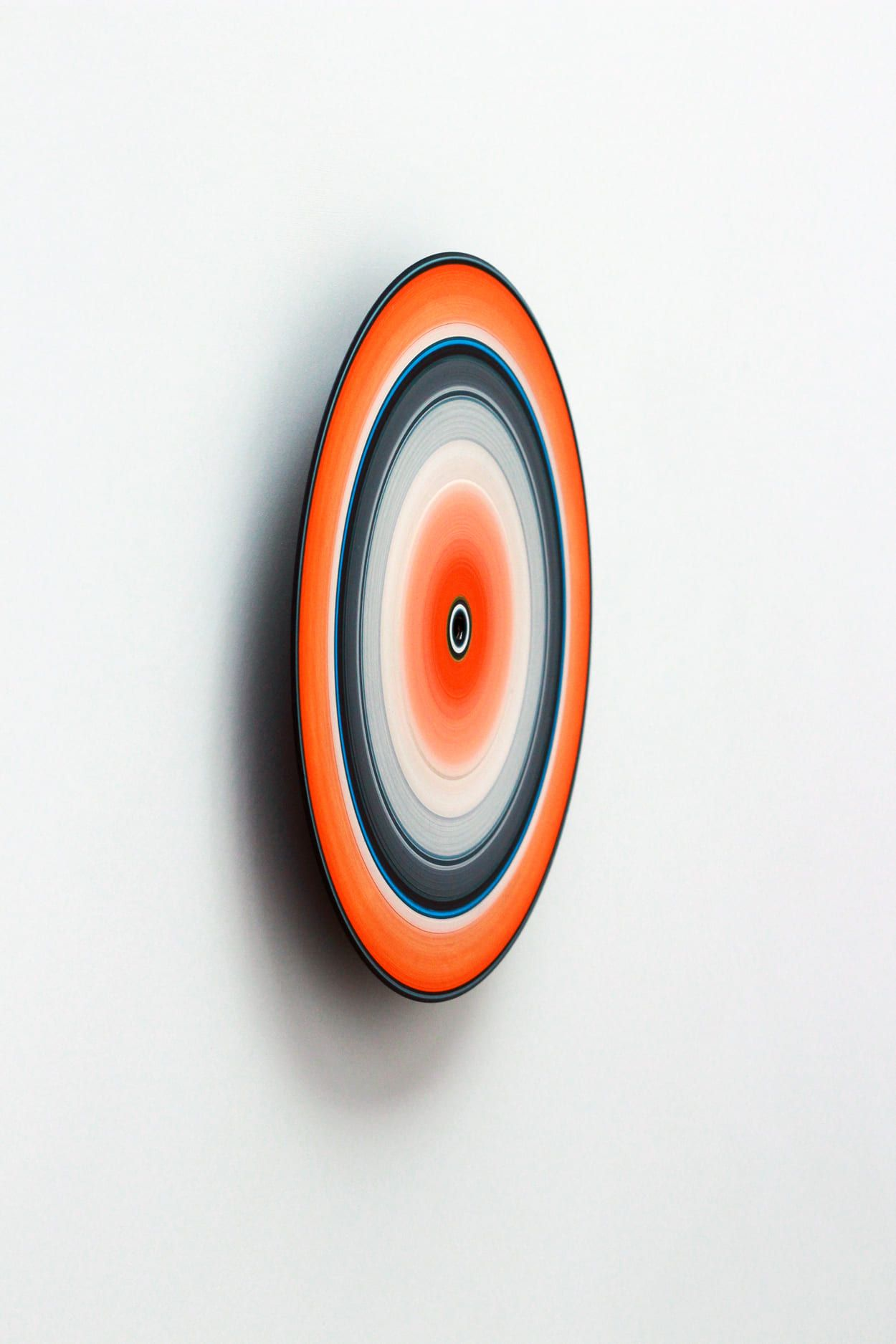 Orange Edition No.03m,Doris Marten,Peinture contemporaine, detail 1