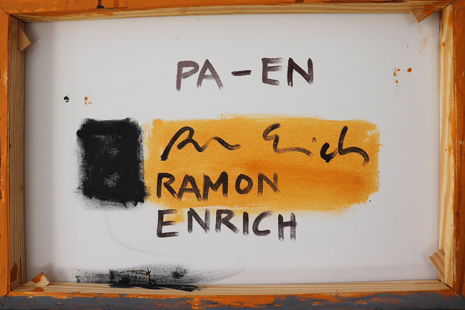 PA-EN,Ramon Enrich,Contemporary painting, detail 4