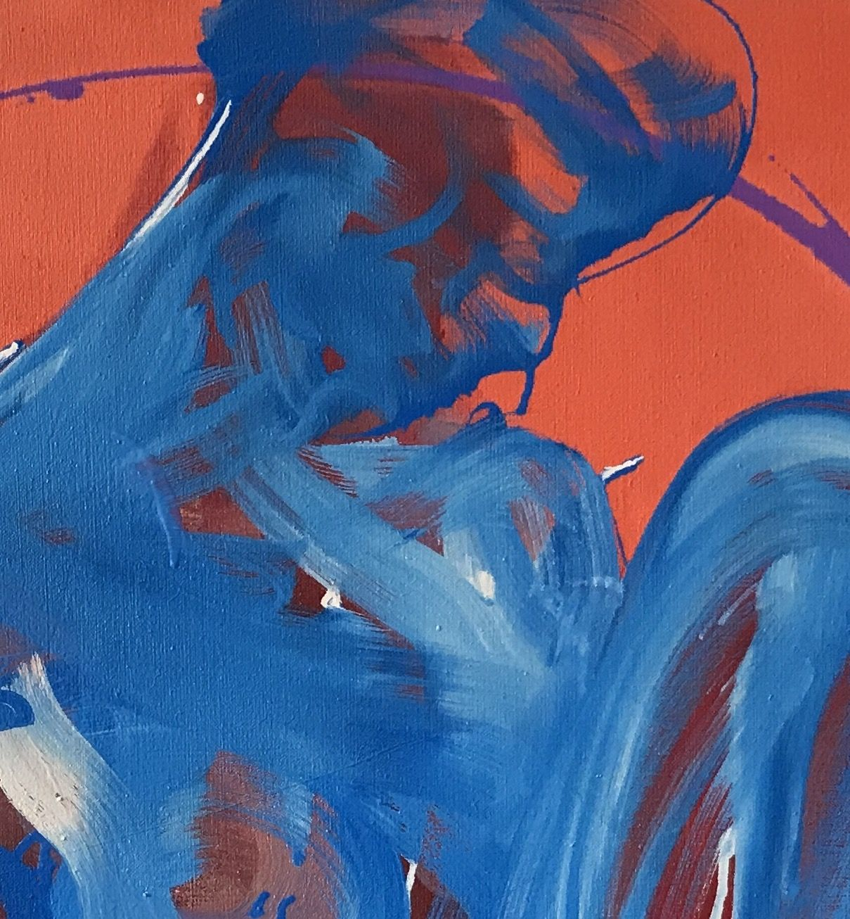 Padua,Christophe Dupety,Contemporary painting, detail 1