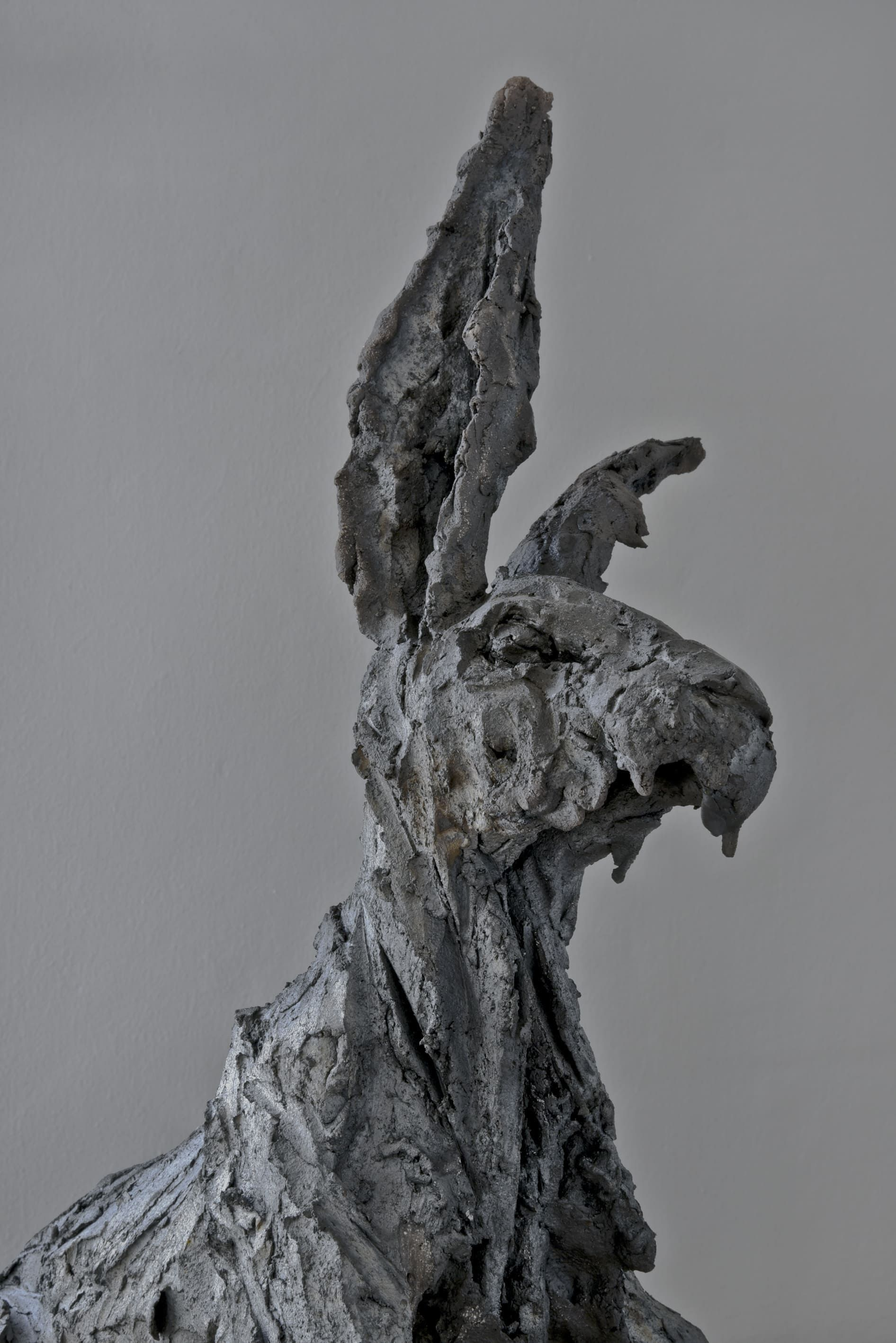 Peau d'Hase,Cécile Raynal,Sculpture contemporaine, detail 1