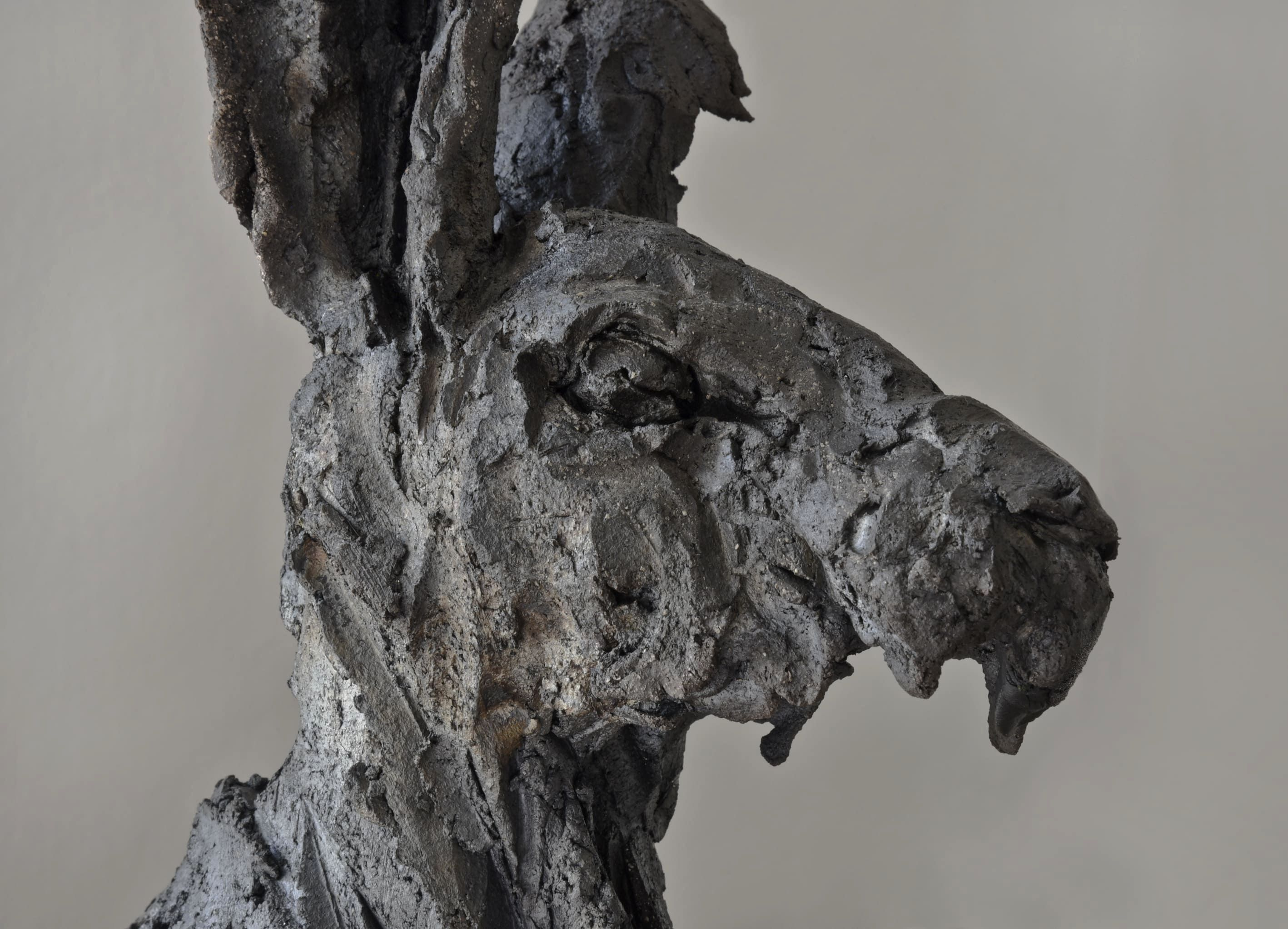 Peau d'Hase,Cécile Raynal,Sculpture contemporaine, detail 3