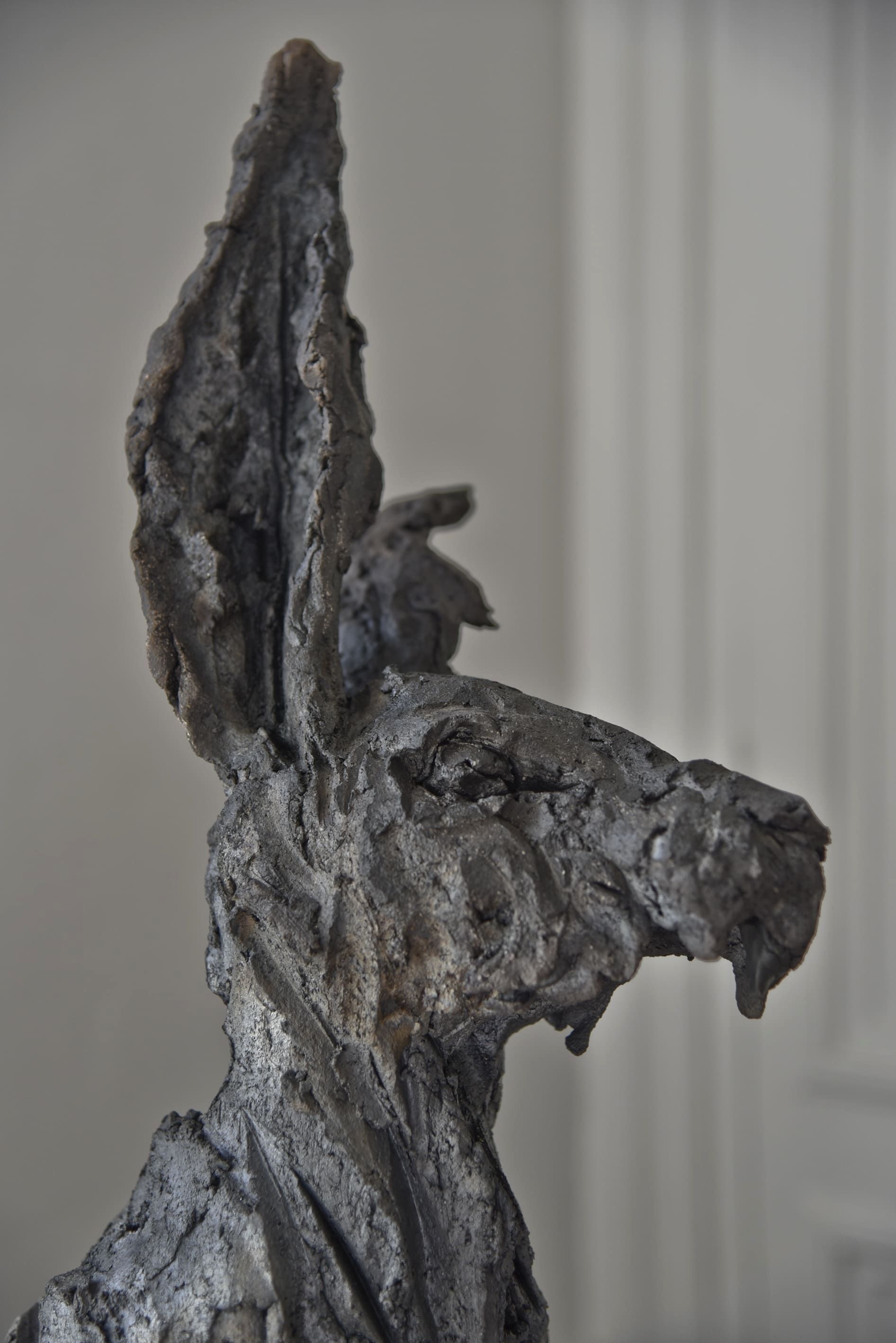 Peau d'Hase,Cécile Raynal,Sculpture contemporaine, detail 2