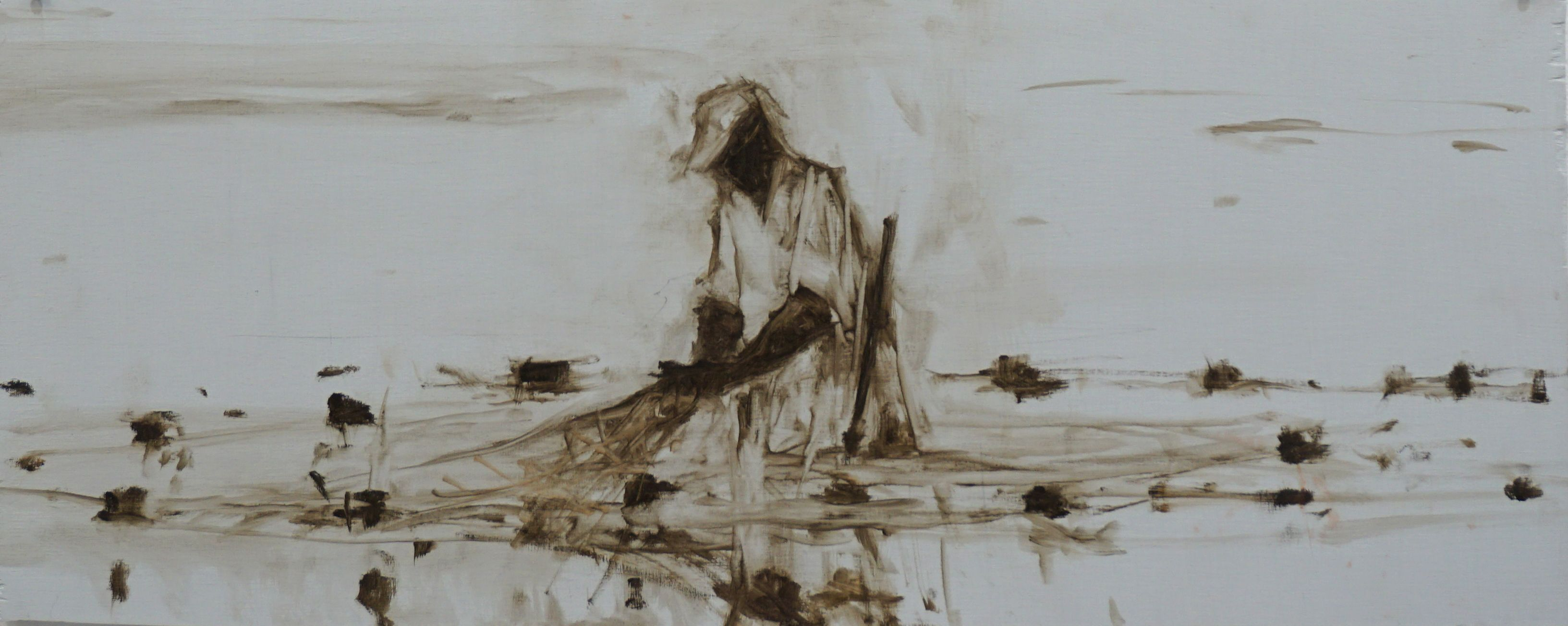 Fisherman XI, Tanzania series,Calo  Carratalá,Contemporary painting