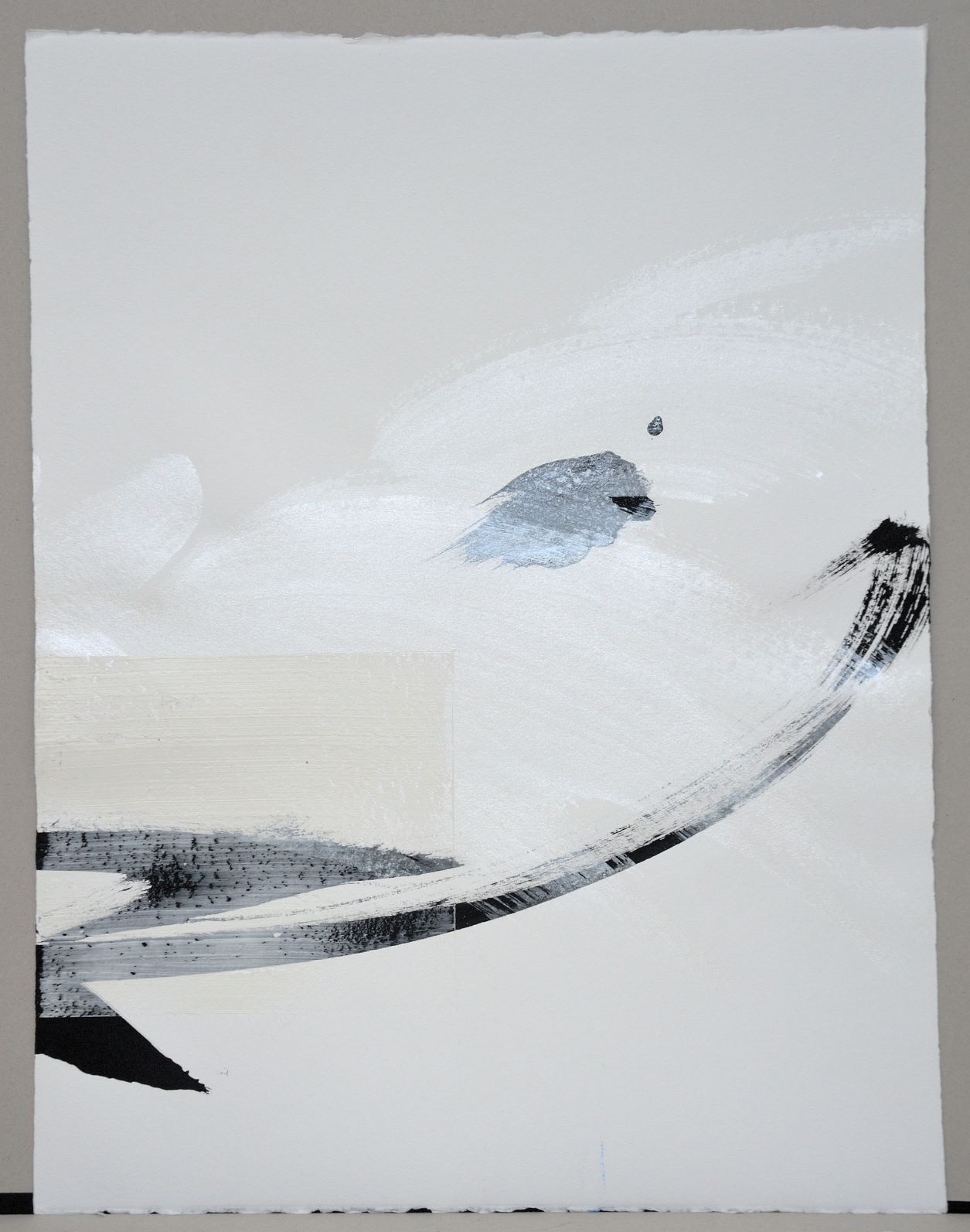 Permanescence N553-D - Hachiro Kanno - Contemporary painting - detail 2