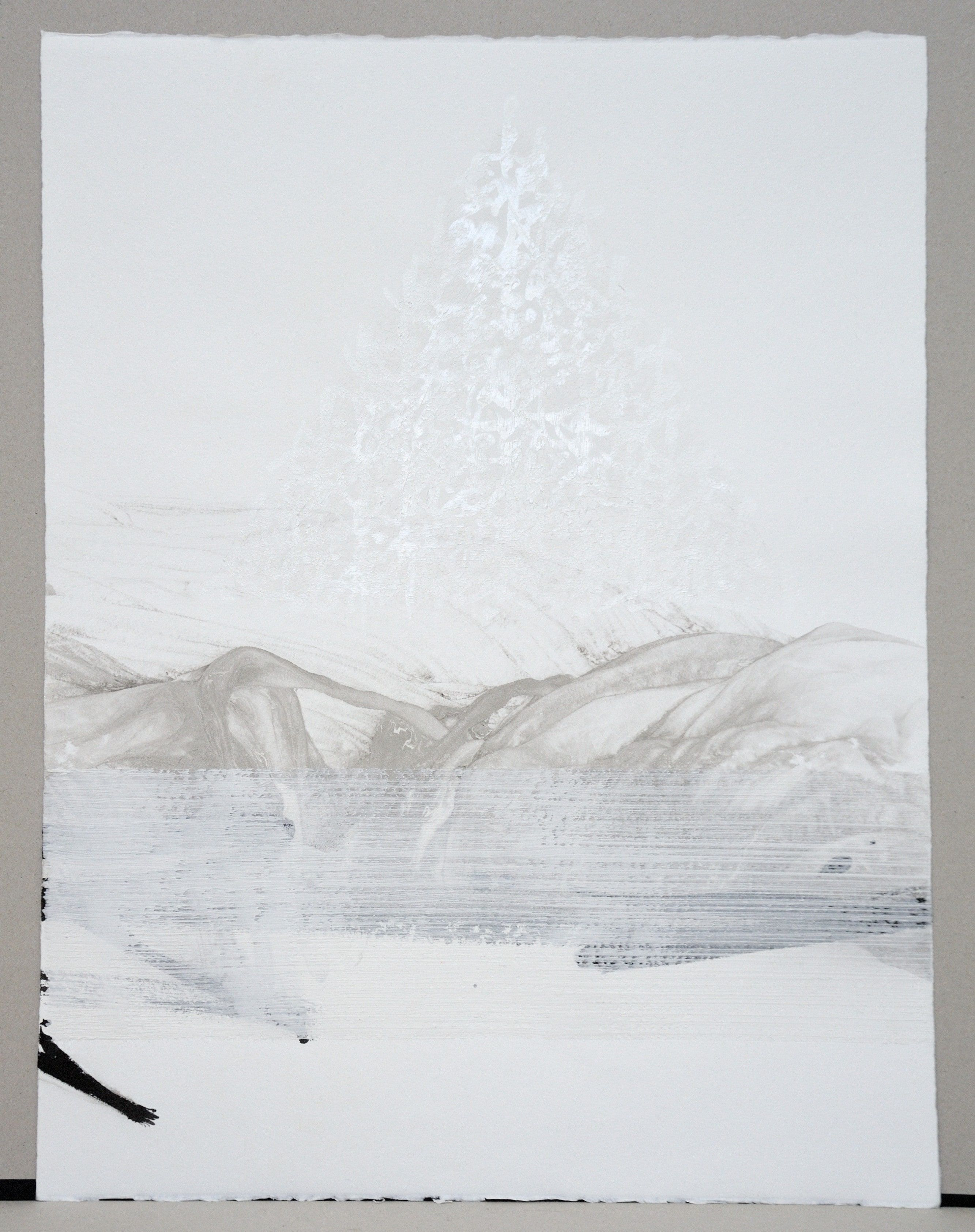 Permanescence N533-T - Hachiro Kanno - Contemporary painting - detail 3