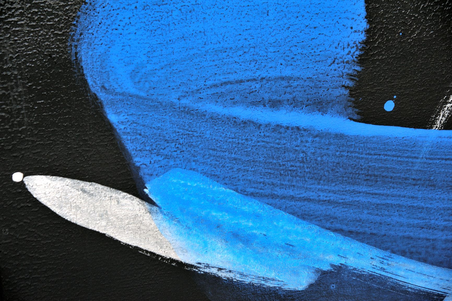 Contemporary painting - Hachiro Kanno - Permanescence TN694 T - detail 2