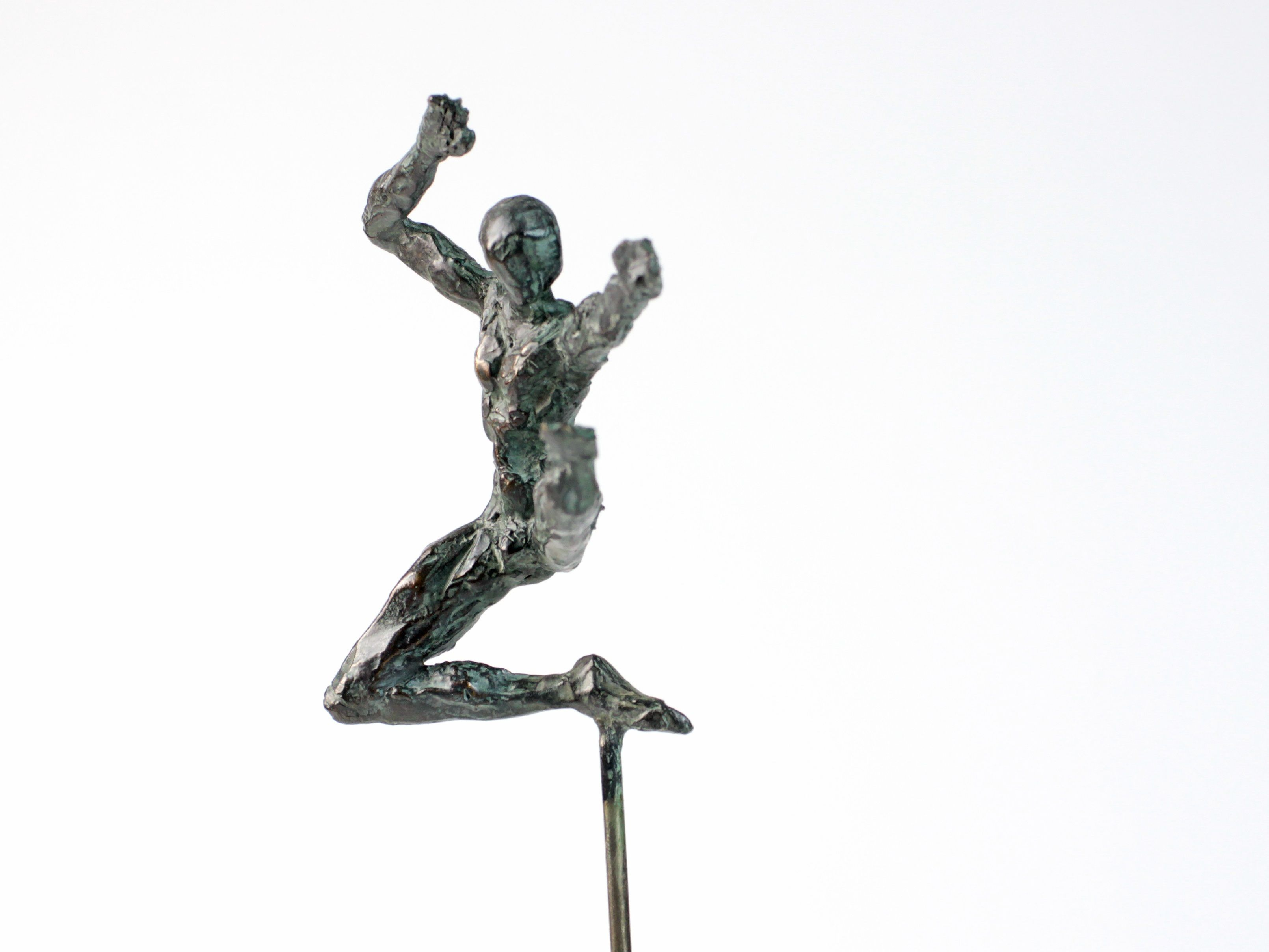 Petit Danseur Karateka II,Yann Guillon,Sculpture contemporaine, detail 1