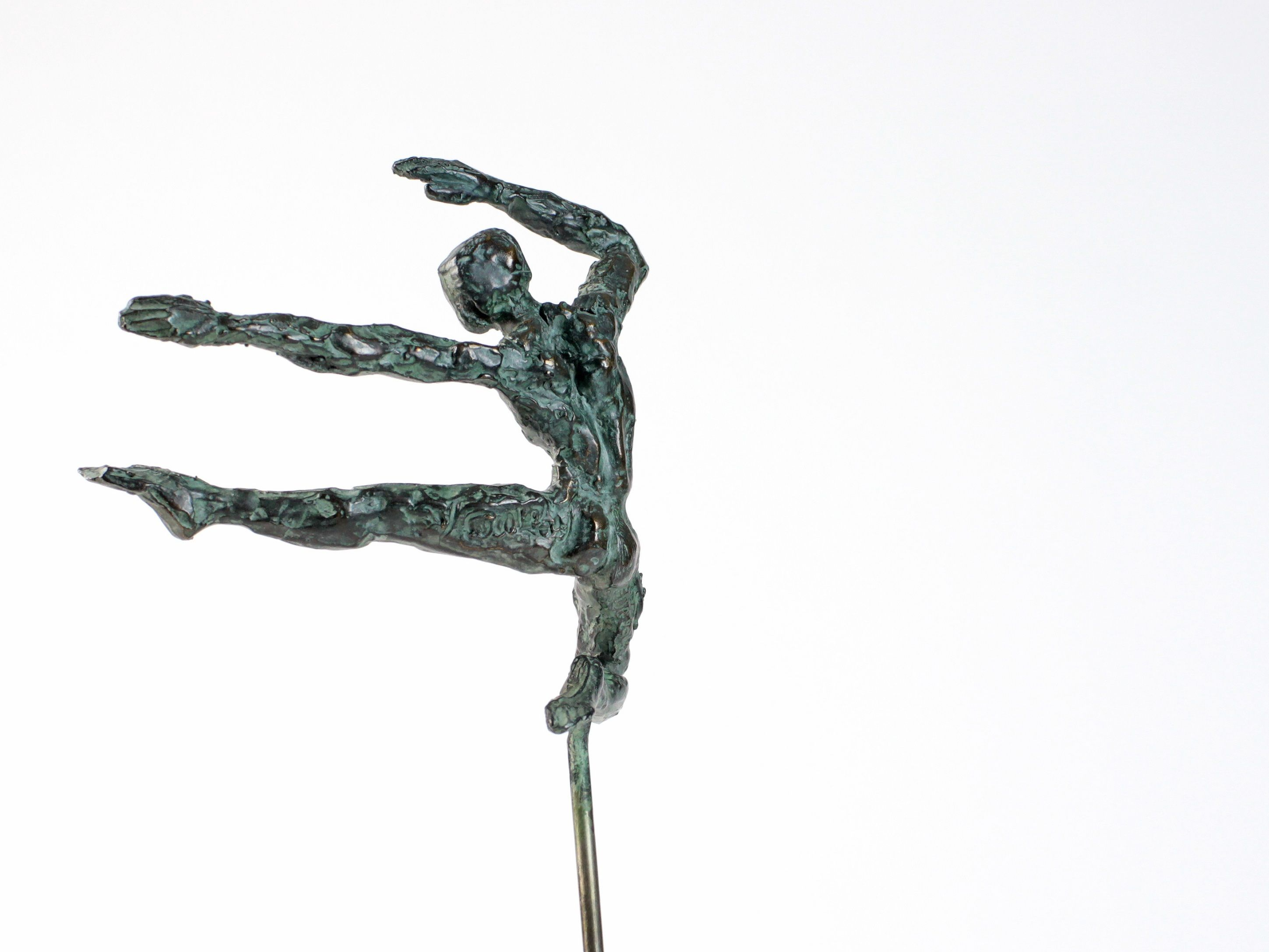 Petit Danseur Karateka II,Yann Guillon,Sculpture contemporaine, detail 2