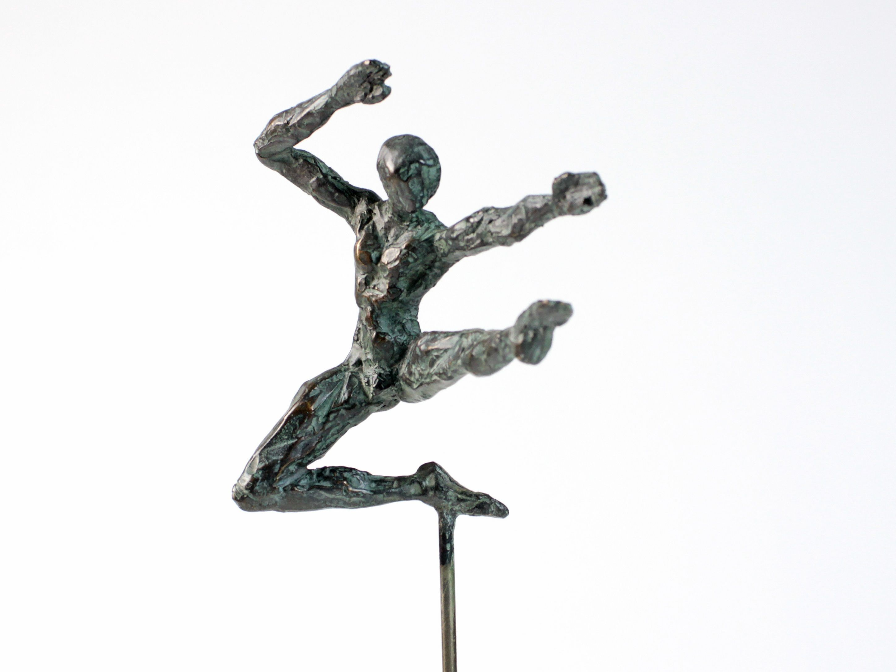 Petit Danseur Karateka II,Yann Guillon,Sculpture contemporaine, detail 3