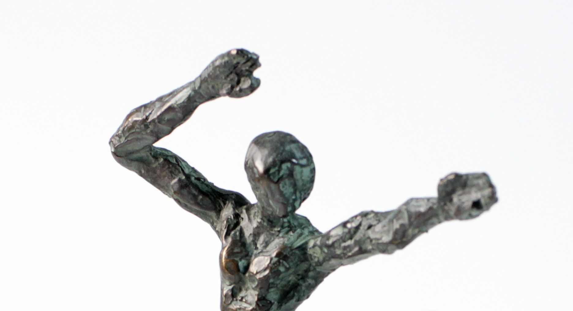 Petit Danseur Karateka II,Yann Guillon,Sculpture contemporaine, detail 4