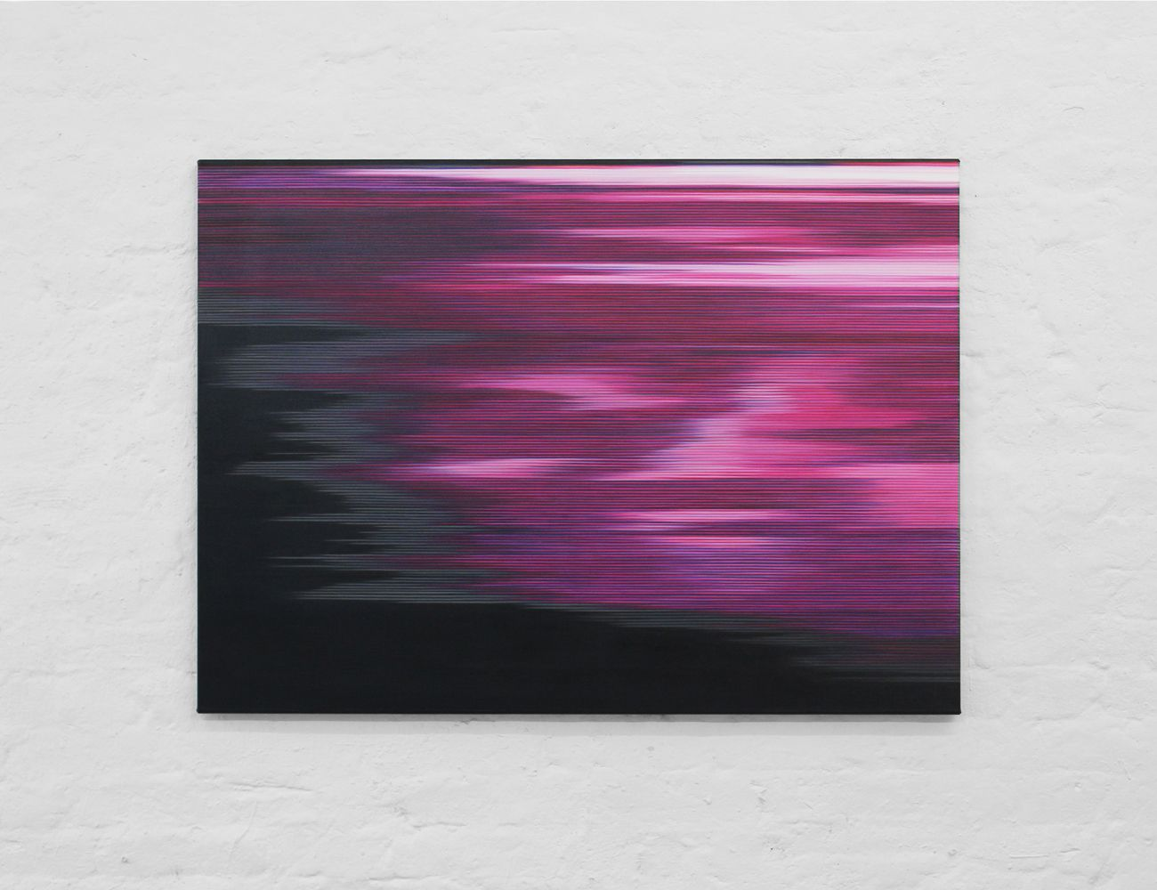 Pink Painting (Landscape n°10),Doris Marten,Contemporary painting