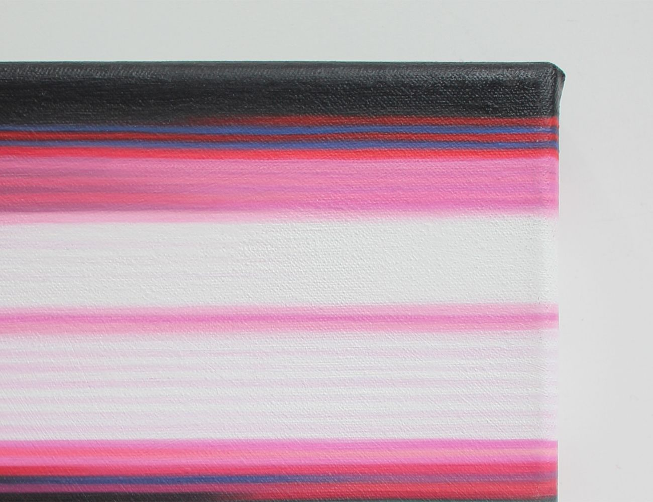 Pink Painting (Landscape No.7) ,Doris Marten,Peinture contemporaine, detail 2