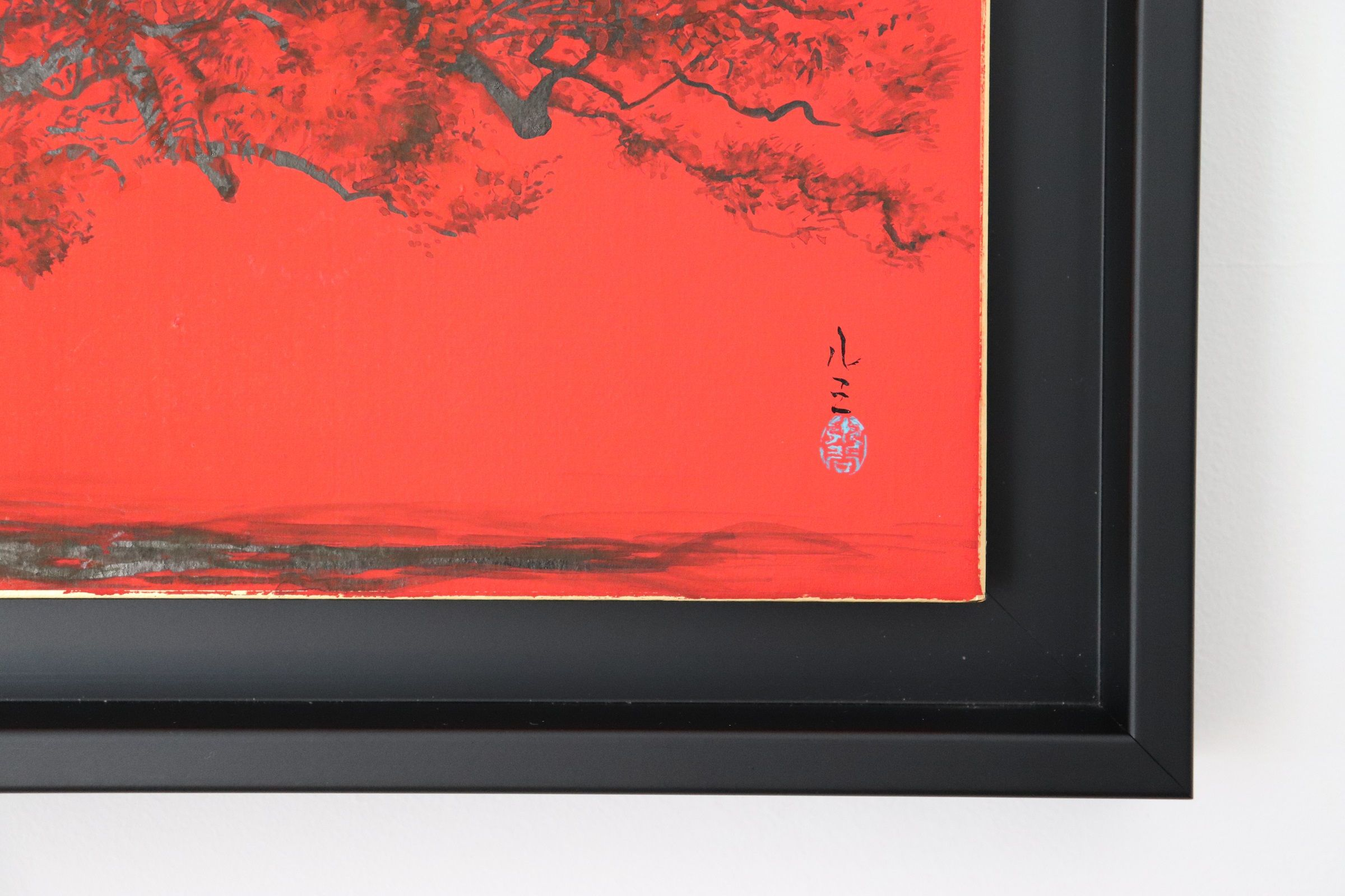 Place at the Imperial Palace,Lumi Mizutani,Contemporary painting, detail 3