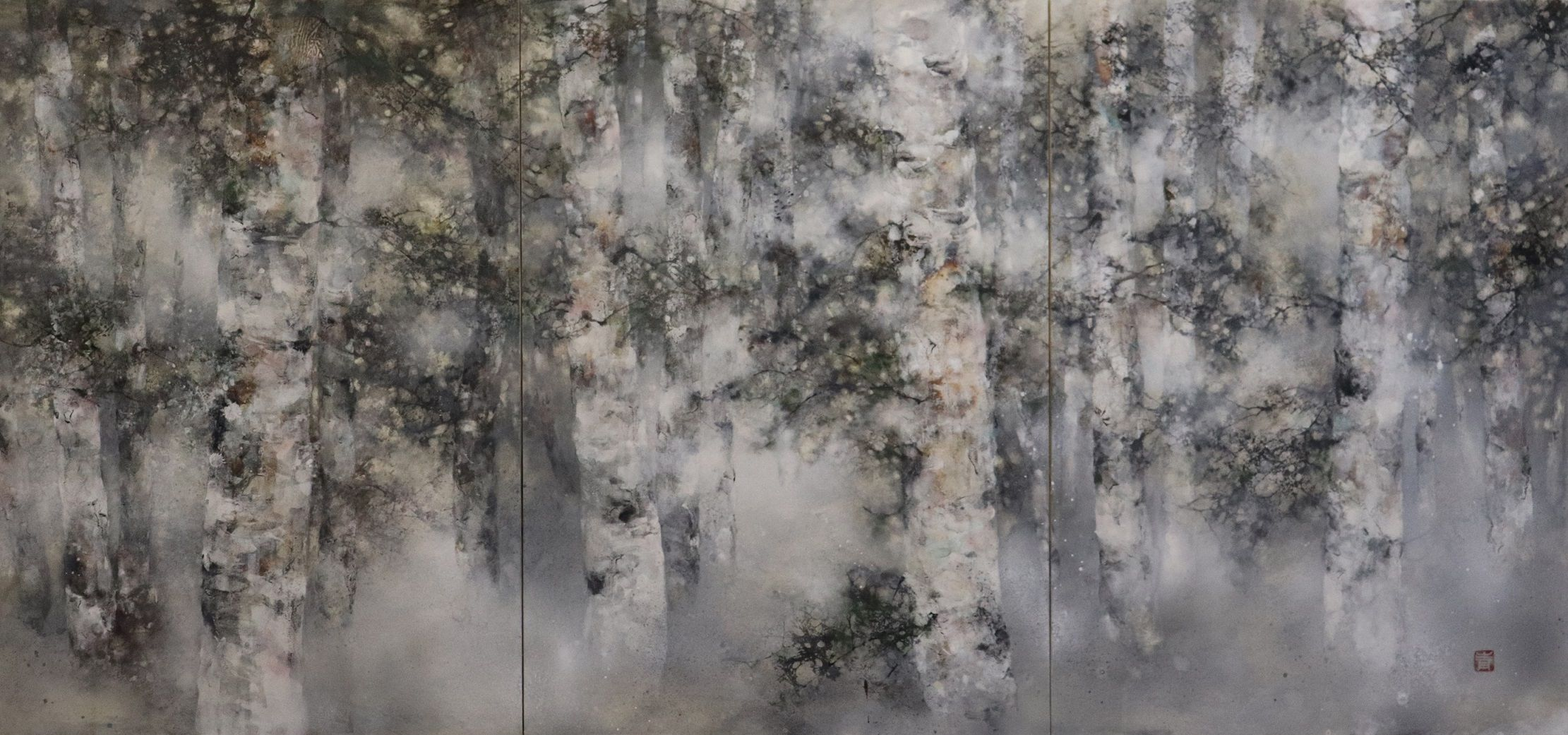 Plenitude,Chen Yiching,Contemporary painting