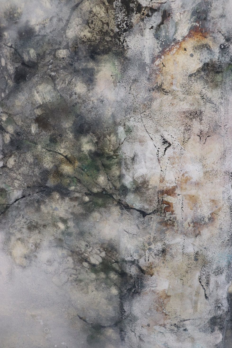 Plenitude,Chen Yiching,Contemporary painting, detail 4