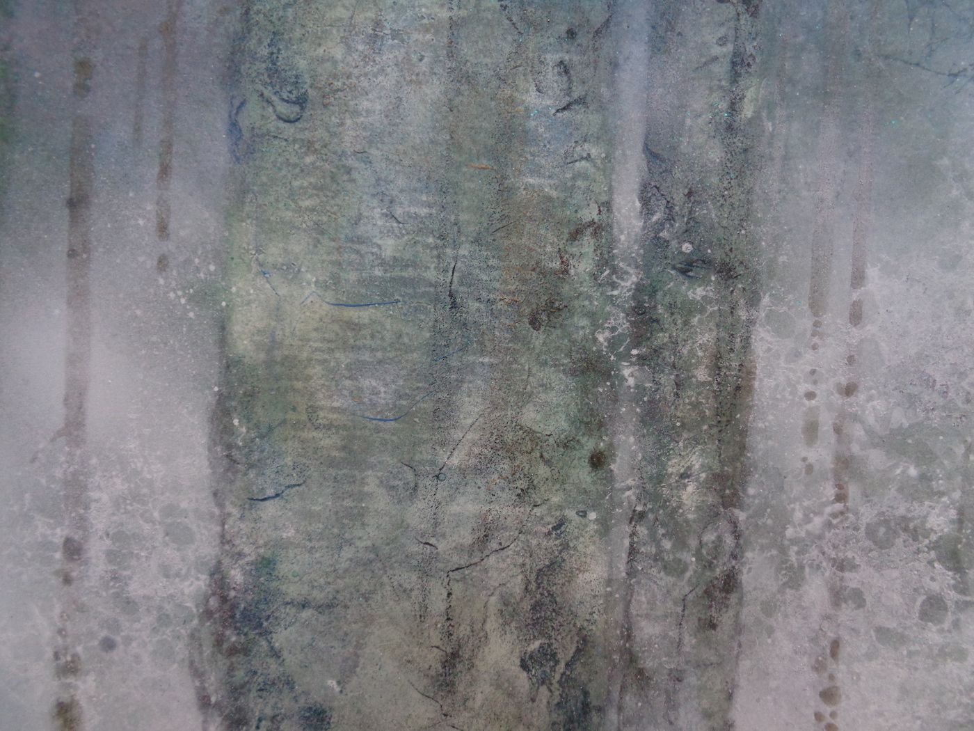 Plenitude II,Chen Yiching,Contemporary painting, detail 3