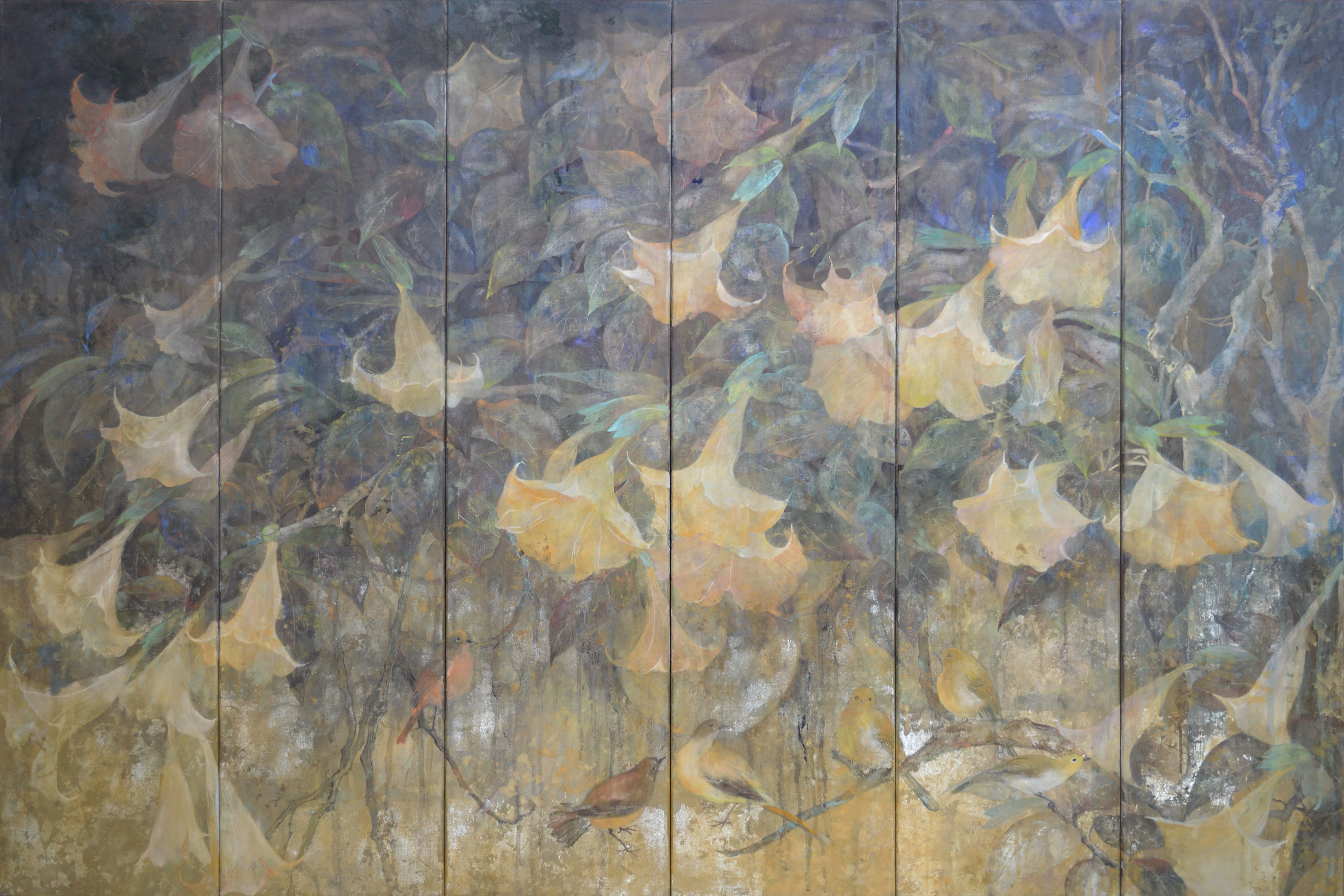 Poésie de nuit,Chen Yiching,Contemporary painting