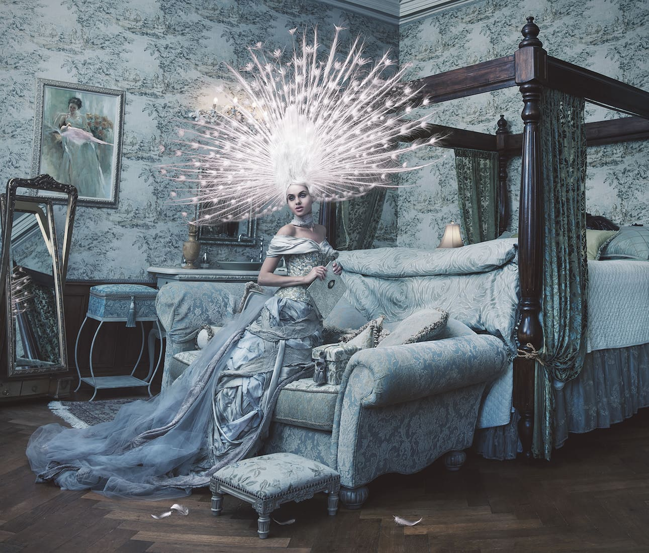 Photography - Miss Aniela - Poster Plumage
