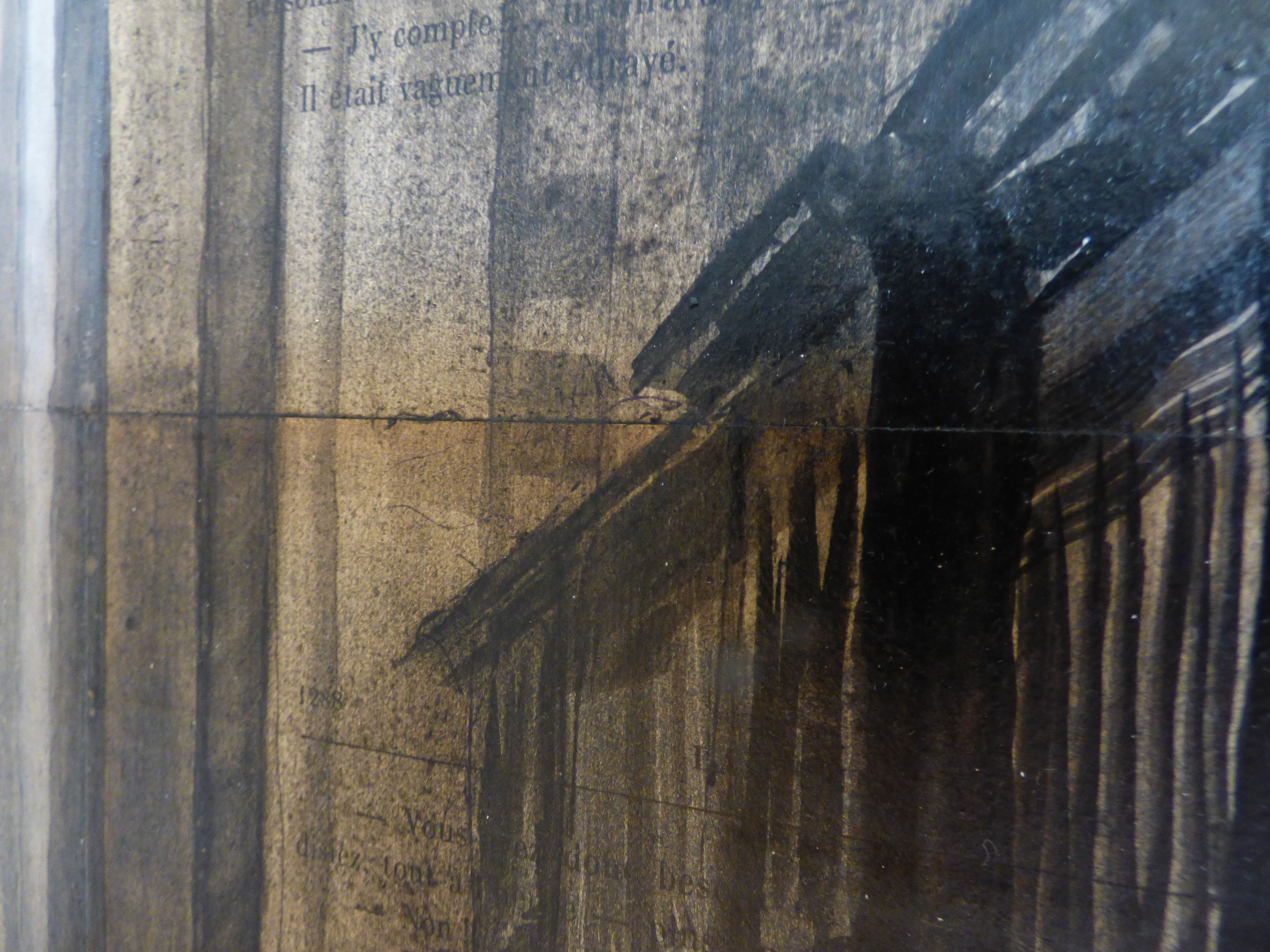 Prince St and Broadway,Guillaume Chansarel,Dessin, detail 2
